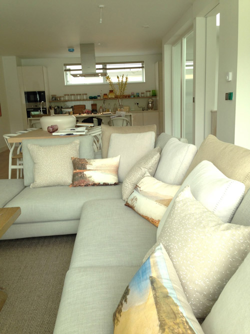 Salcombe Harbour Hotel cushions